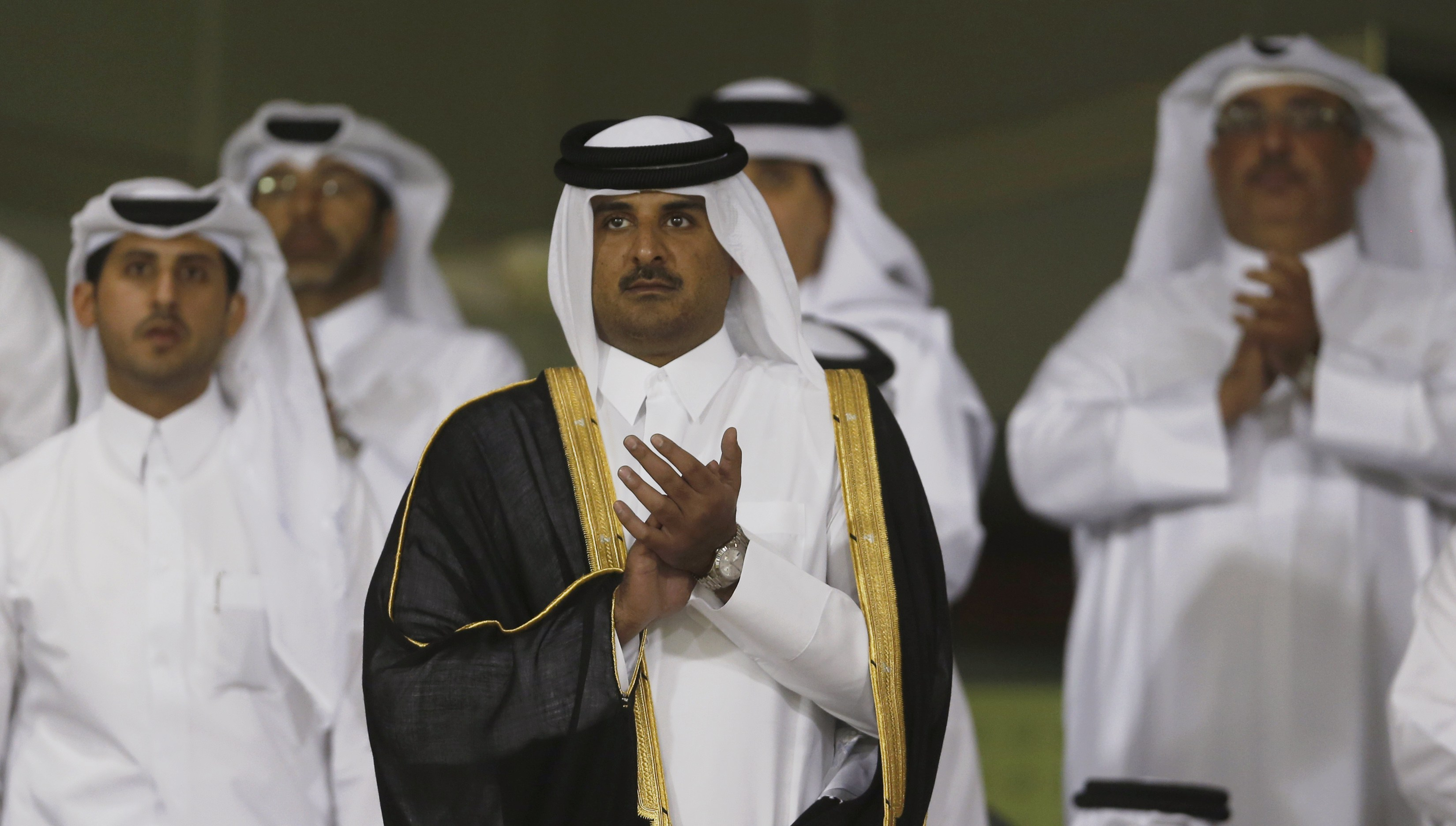 Image result for PHOTOS OF QATAR LEADERS