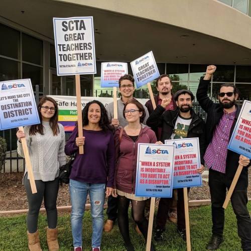 Solidarity with Sacramento teachers – Liberation News - Antifa Gabriel Gipe