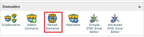 cpanel_parked_domains