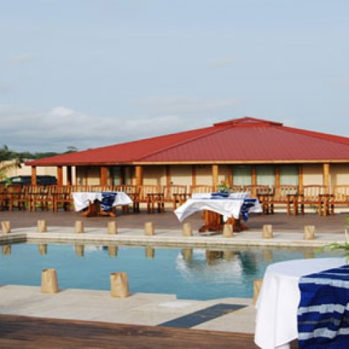 owned by billionaire tycoon  American  Bob Johnson, the Kendeja is best hotel in Liberia, if not West Africa