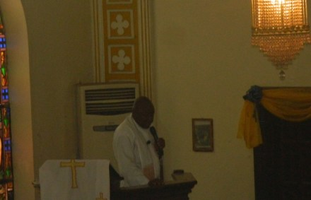 Homily for Greaves at the St. Thomas Episcopal