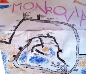 W-Monrovia Karte