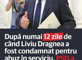 După numai 12 zile de când Liviu Dragnea a fost condamnat pentru abuz în serviciu, PSD a desființat infracțiunea