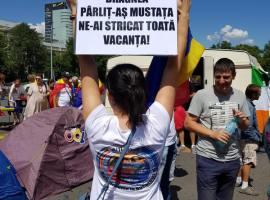 România frumoasă e în stradă și anunță sfârșitul PSD