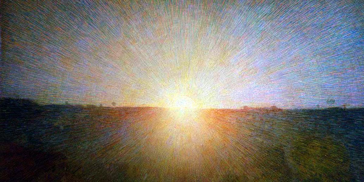 Il sole di Giuseppe Pellizza da Volpedo