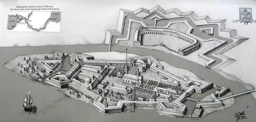 La Fortezza di Pietro e Paolo