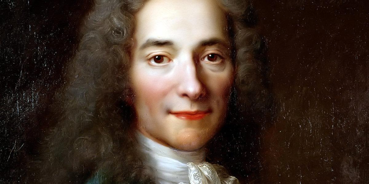 François-Marie Arouet (1694–1778) di Nicolas de Largillière