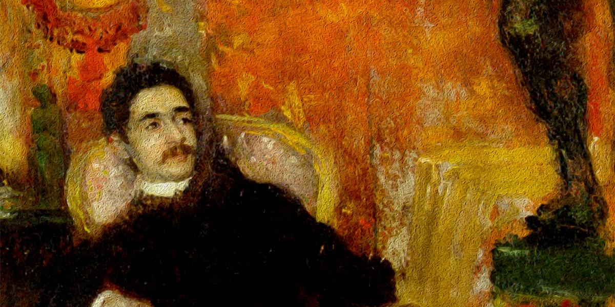 The Conoisseur. Giacomo Favretto (1849-1887)