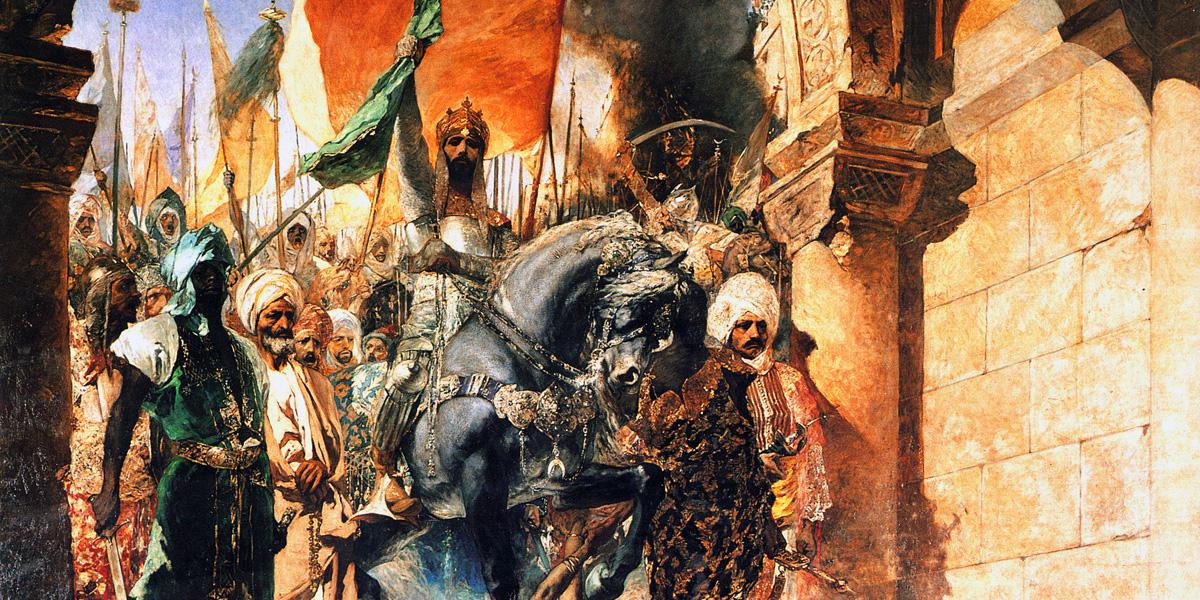 L'entrée du sultan Mehmet II à Constantinople en 1453
