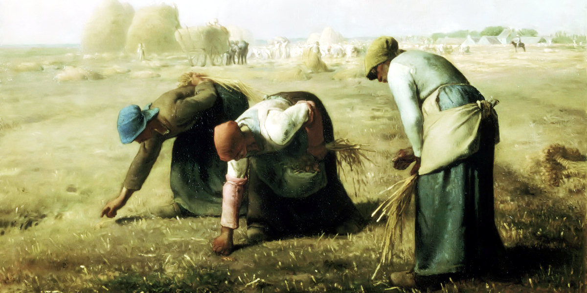 The Gleaners di Jean-François Millet