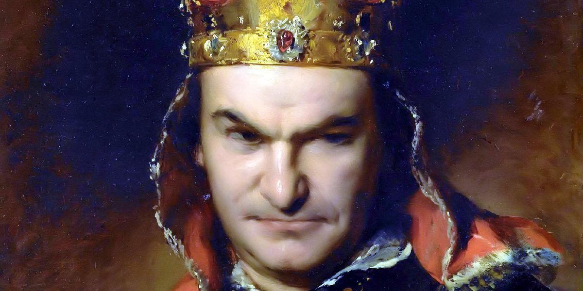 Bogumil Dawison as Richard III di Friedrich von Amerling