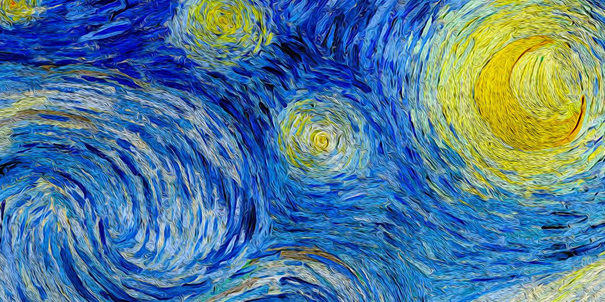 Vincent van Gogh (1853–1890) . De Sterrennacht