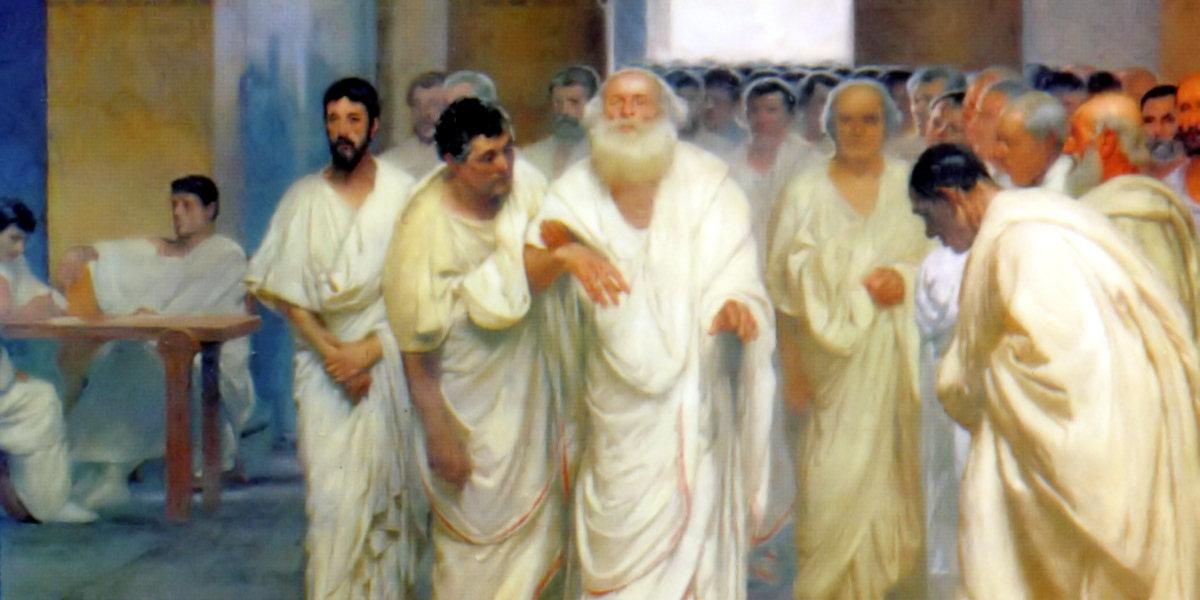 Appio Claudio Cieco in Senato di Cesare Maccari