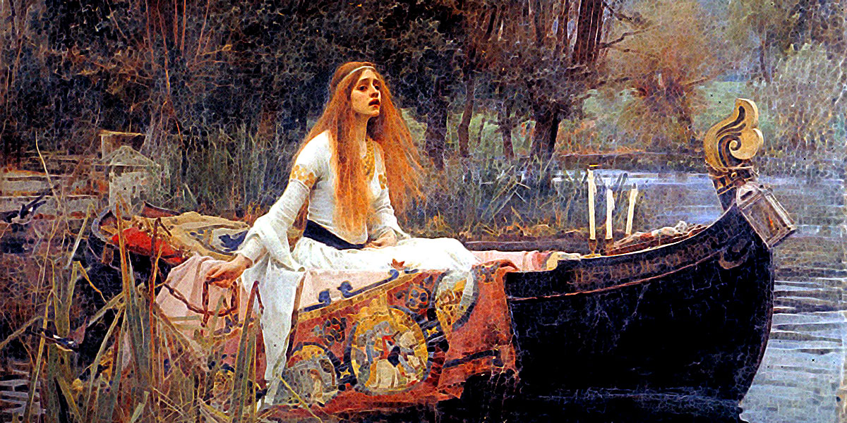 John William Waterhouse. The Lady of Shalott