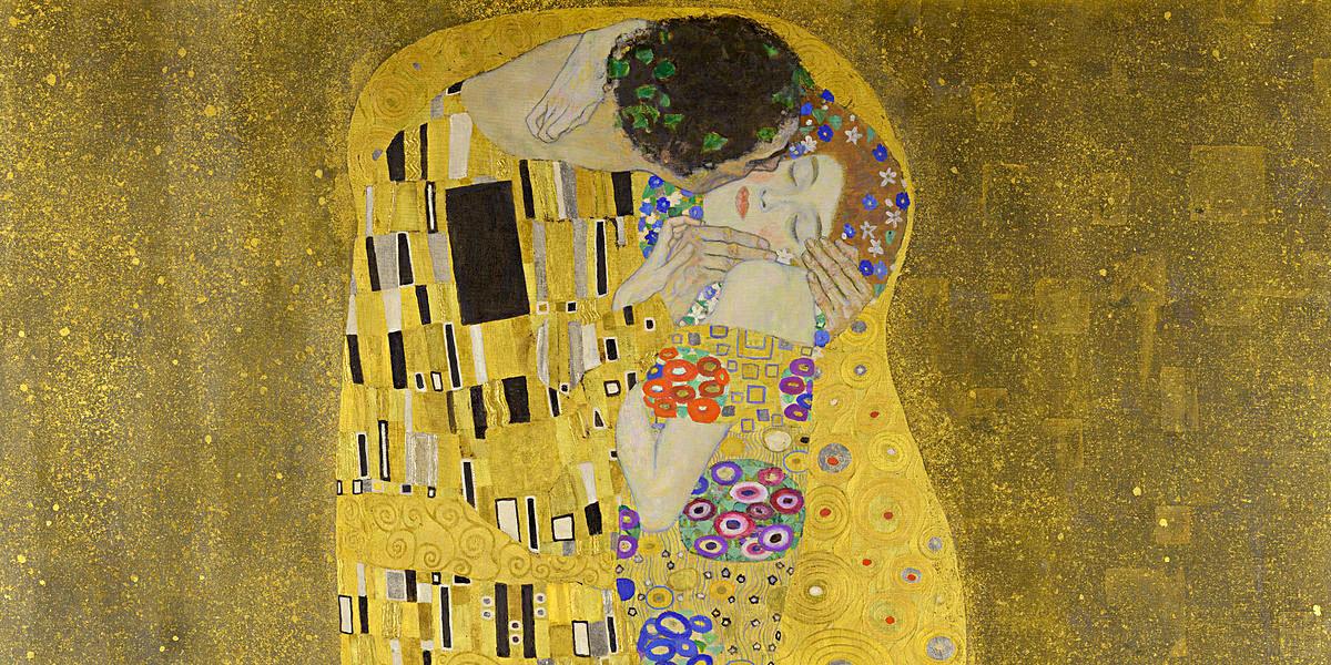 Der Kuß. Gustav Klimt (1862–1918)