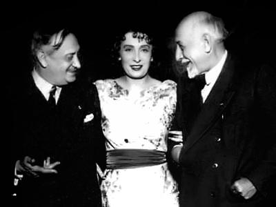 Luigi Antonelli, Marta Abba e Luigi Pirandello nel 1933