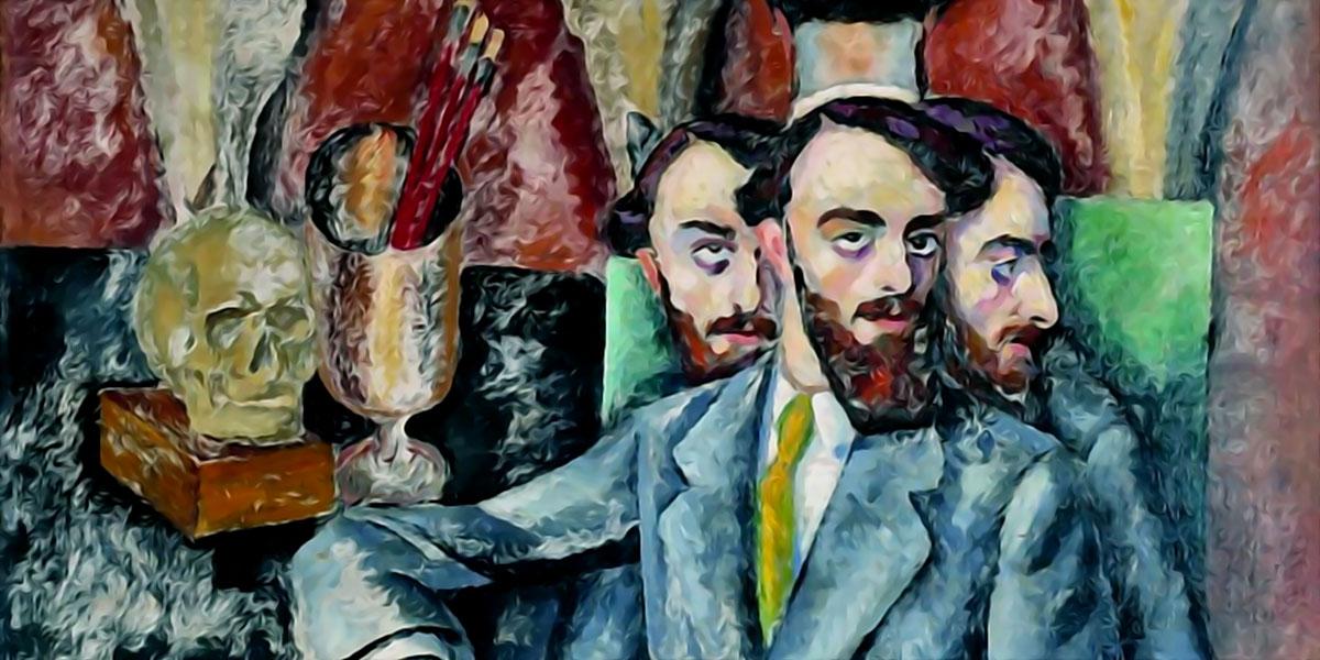 Portrait of the Artist A. Milman. Ilya Mashkov