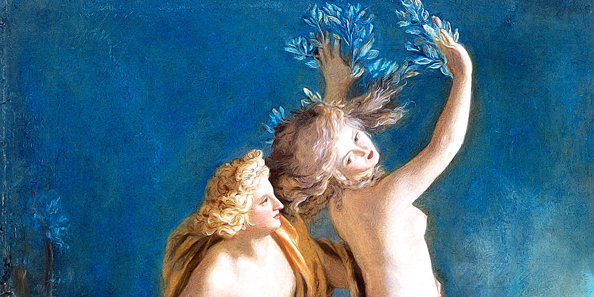 Apollo and Daphne. Jean-Étienne Liotard