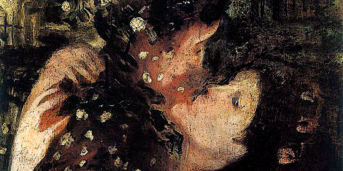 Ecstasy. Lajos Gulacsy