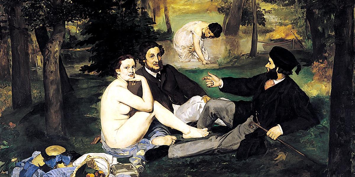 Édouard Manet, Colazione sull'erba (1863); olio su tela, 208×264 cm, museo d'Orsay, Parigi