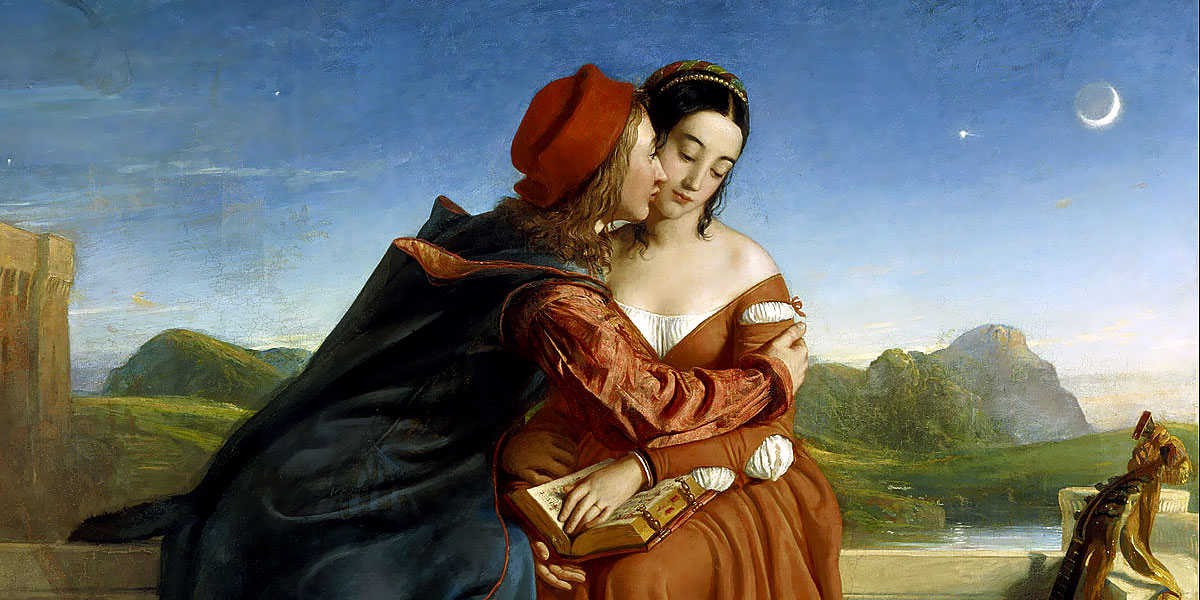 Francesca da Rimini. William Dyce