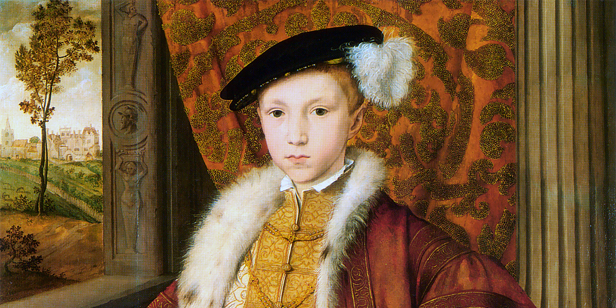 Edward VI of England. Attributed to William Scrots. Royal Collection, Windsor Castle