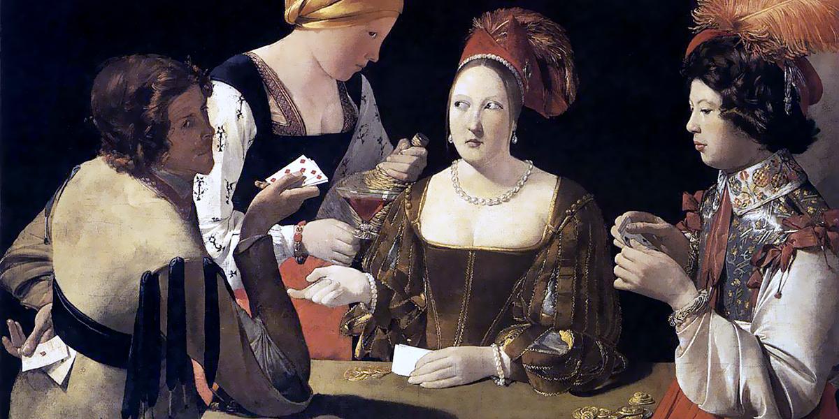 The Cheat with the Ace of Diamonds. Georges de la Tour