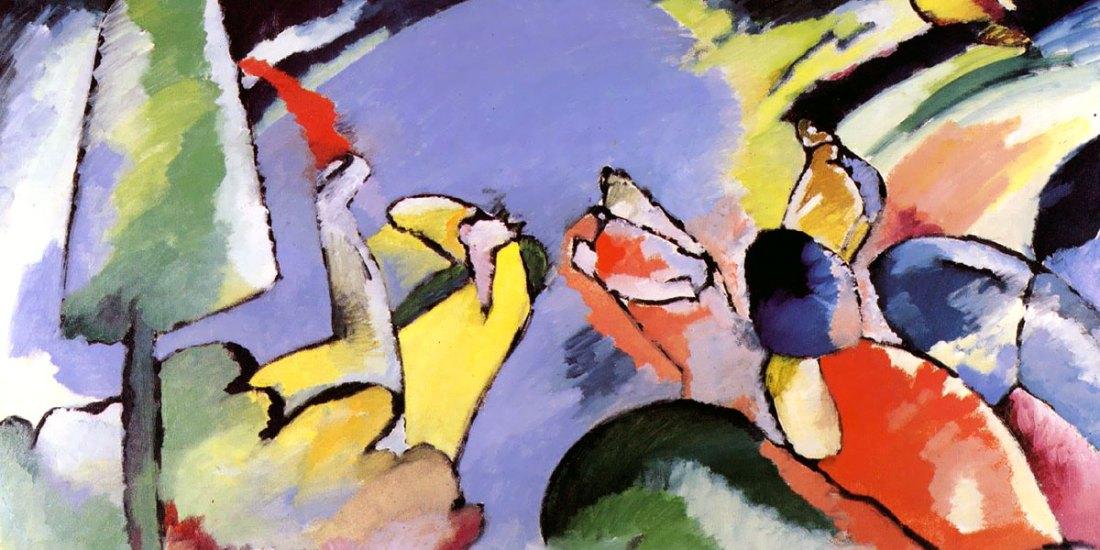 Improvisation 14. Wassily Kandinsky