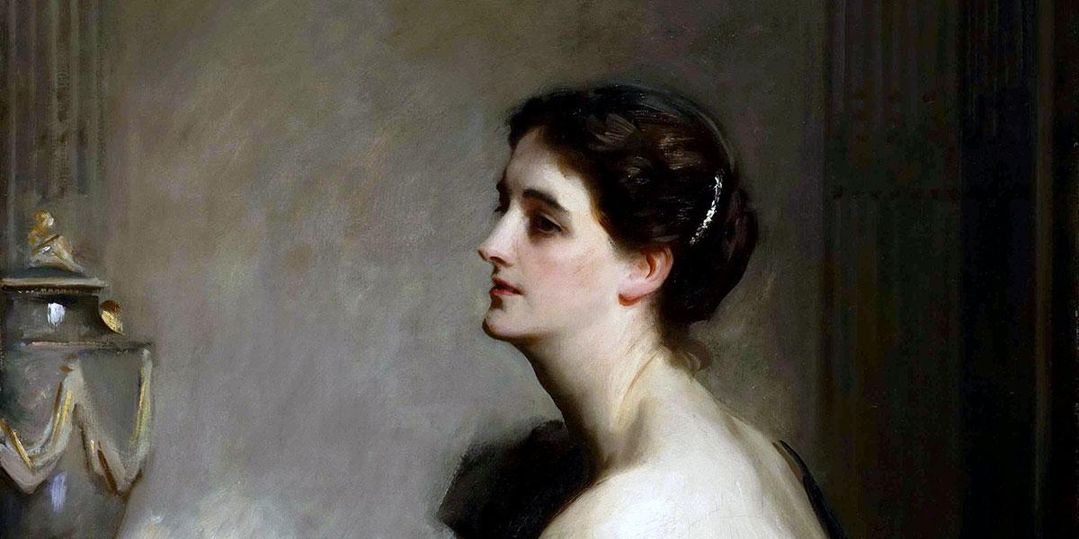 """Lady Eden (1906)"" di John Singer Sargent (1856–1925)."