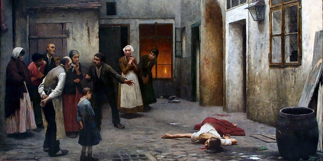Murder in the House. Jakub Schikaneder