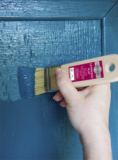 la peinture meuble a base de caseine