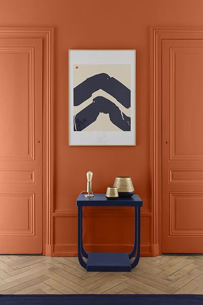 peinture bois meuble effet vernis
