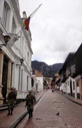 Corpo militare colombiano in Bogotá