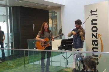 Manuel Agnelli e Rodrigo D Erasmo degli Afterhours live Amazon