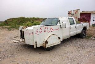 Veicolo sequestrato allo Stato Islamico