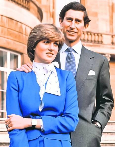 Lady Diana și Prințul Charles