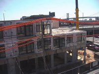 Modular Apartments Being Installed