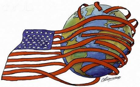 US Flag Foreign Influence
