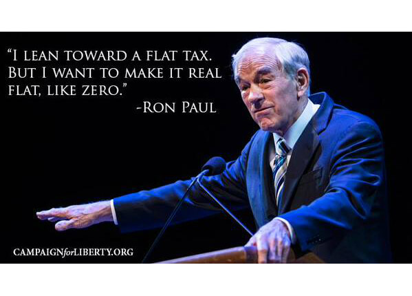Ron Paul on the Flat Tax