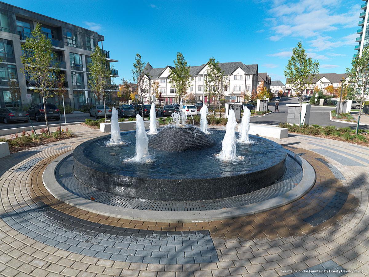 Thornhill City Centre Fountain Condos Liberty Development