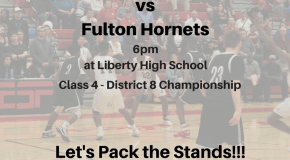 Liberty will face Fulton for District Championship