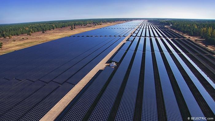 Parque solar de Templin, no leste da Alemanha