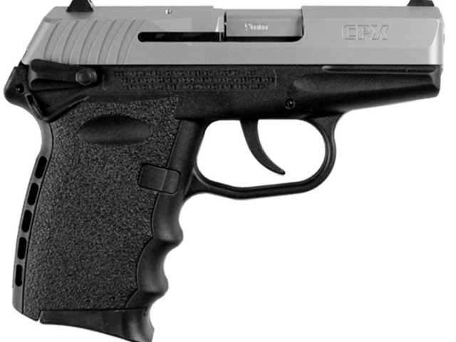 New SCCY CPX1, 9mm, Black & Stainless: $289