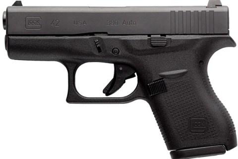 New Glock 42, .380 ACP: $419
