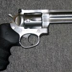 Preowned Ruger GP100, .357 Magnum, 6 Rounds, 4.2″ Barrel, Adjustable rear Sight, Rubber Grip, Stainless: $589
