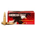Federal American Eagle 5.7×28 Ammunition, 50 Rounds, 40 Grain, Total Metal Jacket, 1655fps: Coming Soon