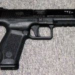 Preowned Century Arms Canik TP9SF Special Forces, 9mm, 4.5″ Barrel, 18 Rounds, 2 Magazines, Interchangeable Grips: $339