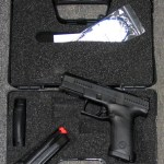 Preowned, Like Brand New CZ P-10C, 9mm, 15 Rounds, 2 Magazines, 4″ Barrel, DAO: $449