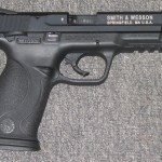 Preowned Smith & Wesson M&P, .22 LR, 4.1″ Barrel, Polymer Frame, Black Finish, Ambidextrous Safety, 12 Rounds, 1 Magazine: $339
