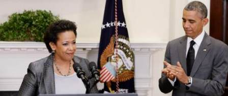 Judicial Watch Sues DOJ for Records of Bill Clinton's Powwow with Loretta Lynch